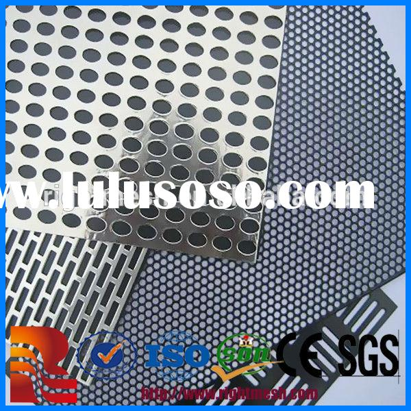 perforated mesh/stainless steel perforated metal mesh/perforated metal screen door mesh