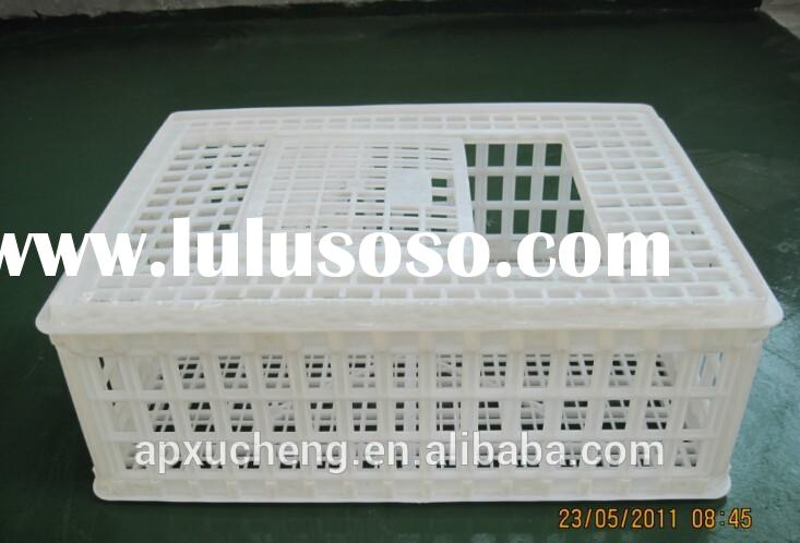plastic cage/ poultry transport cage/ chicken transport cage,plsatic chicken cage