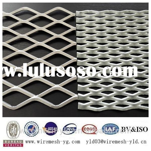 steel sheet heavy duty galvanized strech protecting metal screen wire mesh ISO9001