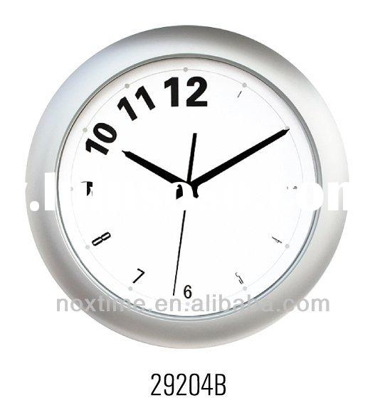 14 inch plastic Quartz Wall Clock good for promotional gift