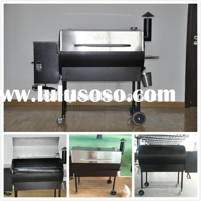 2015 heavy type stainless steel wood pellet bbq grill/Smoker.