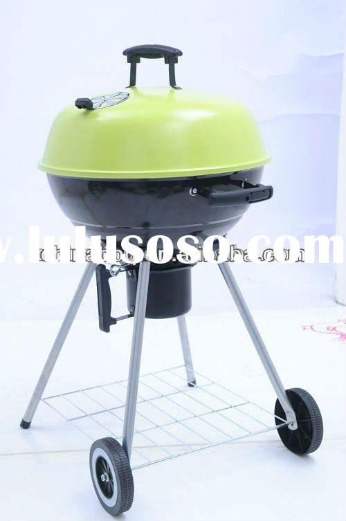 20'' inch Kettle grill with color lid ,smoker,barbecue grill, bbq, bbq grill, apple