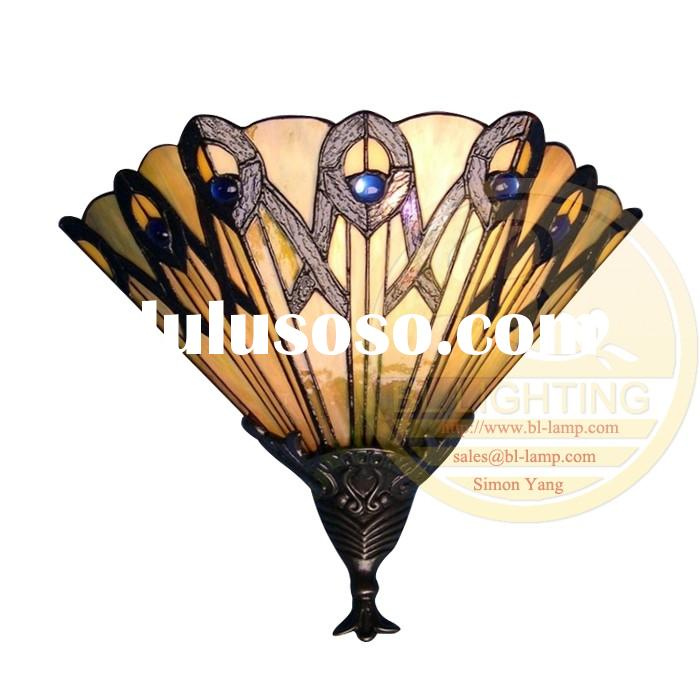 20 years experience in hot sell stained glass wall lamp for office ,cheap wall stained glass lamp fo
