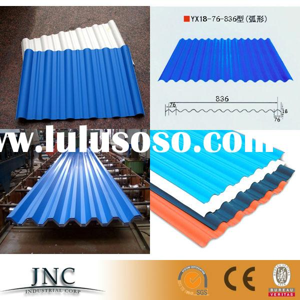 China gold supplier pre-painted corrugated steel sheet / prepainted steel roofing sheet / Color Roof