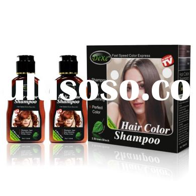 China professiona quick color shampoo,no chemical organic hair color shampoo