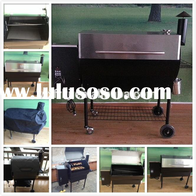 Excellent Quality Smoker Wood Pellet BBQ Grill for Sale.