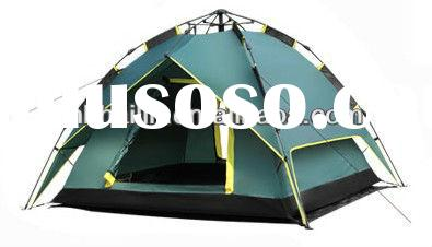 Factory sale cheaper 2 3 4 persons camping tent automatic family camping tent umbrella tent