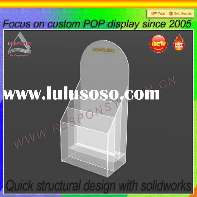 Factory price business card counter acrylic display stand