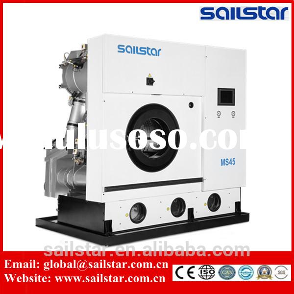 Industrial steam pressing and dry cleaning machine
