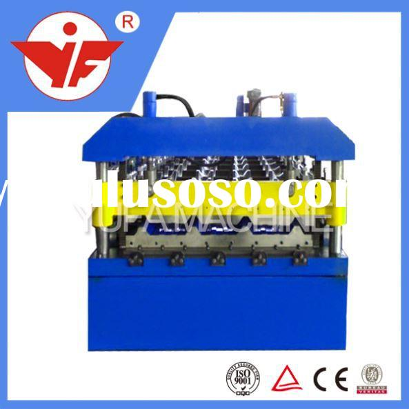 Long span hot sale type t12 colored steel roof tile roll forming machine