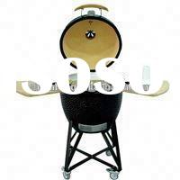 Newest Stainless Steel Wood Pellet BBQ Grill Smoker for food