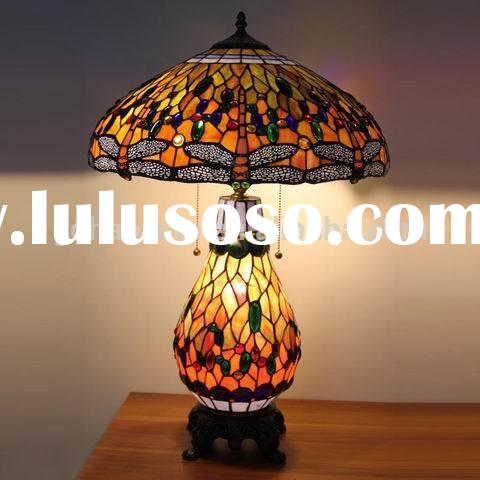 Popular stained glass tiffany lamp antique style
