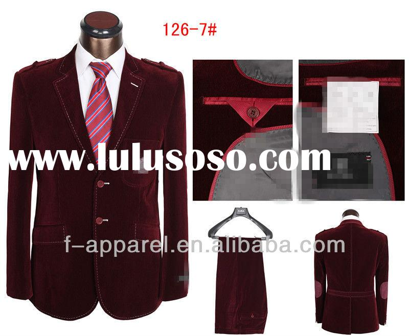 Wholesale Cheap Latest Designs Wedding Suits For Men Coat Pant Design Tuxedo