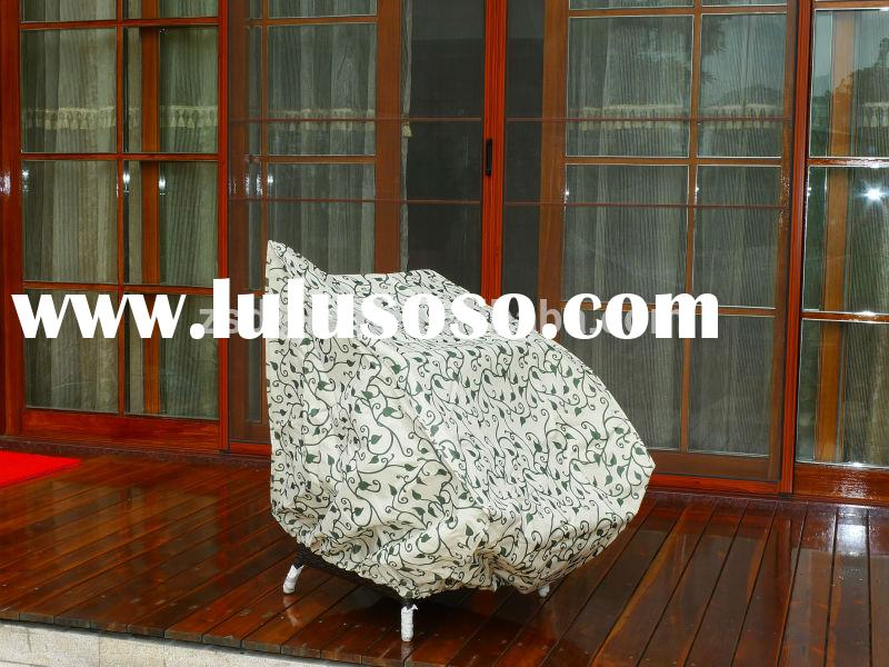outdoor furniture Chair cover; PVB/PVC/PE with polyester