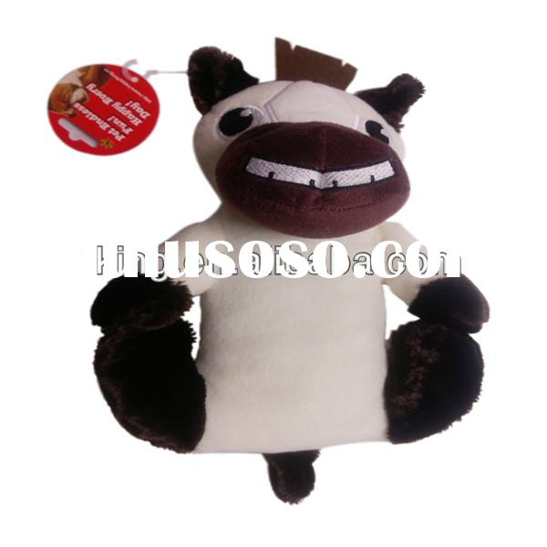 2013 New Promotion gift Plush horse Pet toys for dog;customized cheap plush pet toy or doll,soft squ