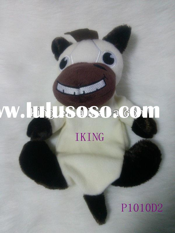 2013 New promotional gift Plush horse pet toys;customized plush pet doll,soft squeak and stuffed pet