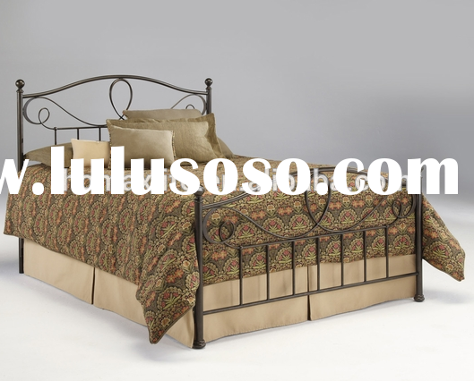 2015 furniture cheap metal queen bed frame DB-1629