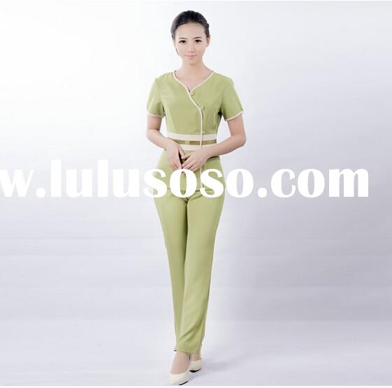 Luxury spa uniforms luxury spa uniforms manufacturers in for Spa uniform design philippines