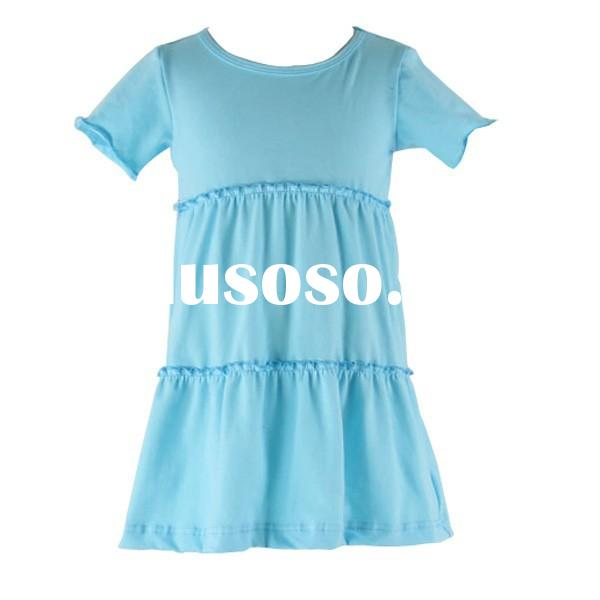 2015 the New Style wholesale Fashion Dress Baby Girls Summer Cotton Girl Fancy Frocks