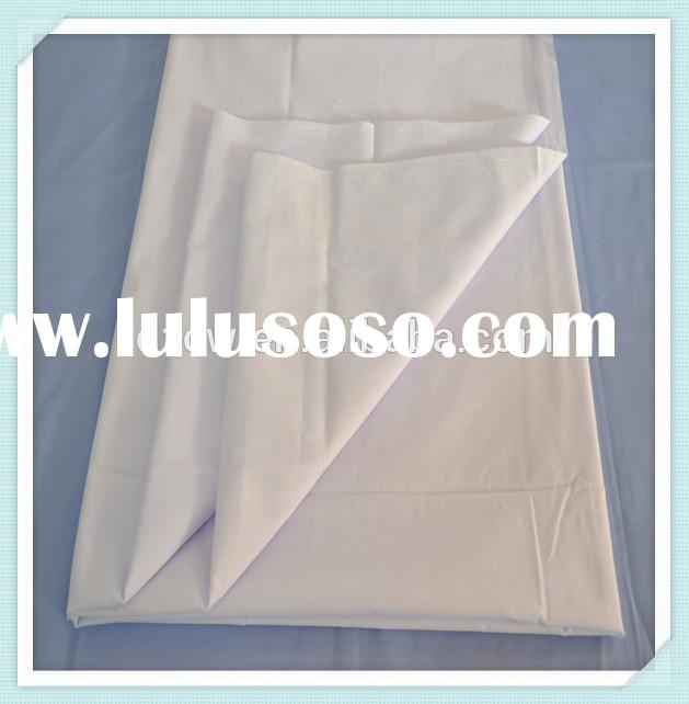"90"" High quality 100% Cotton White Bedding Fabric 40s*40s"
