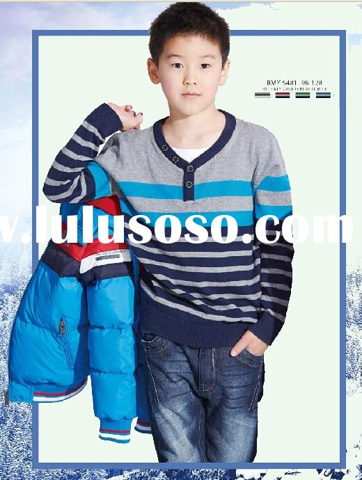 Glo-story 2015 boys sweaters knitted patterns for kids