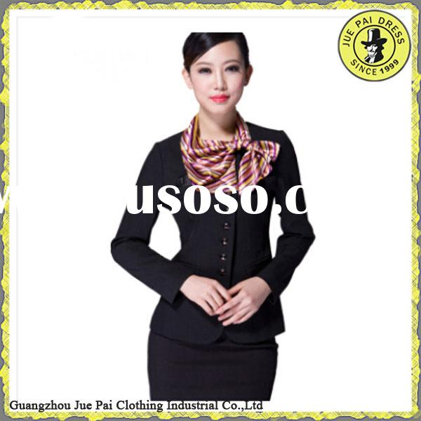 HOT SELL!!!2015 Airline Pilot Uniform And Airlines Stewardess Uniform