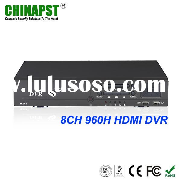 Hot Wholesale Popular best H.264 8 channel home security digital video recorder system FCC,CE,UL,RoH