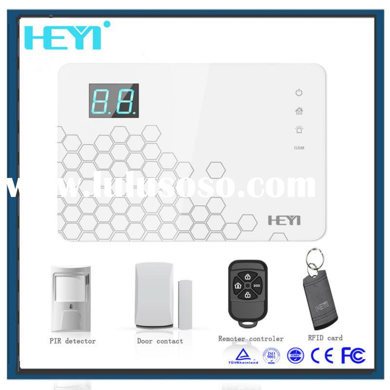 Intelligent home wireless security alarm system! best video security system