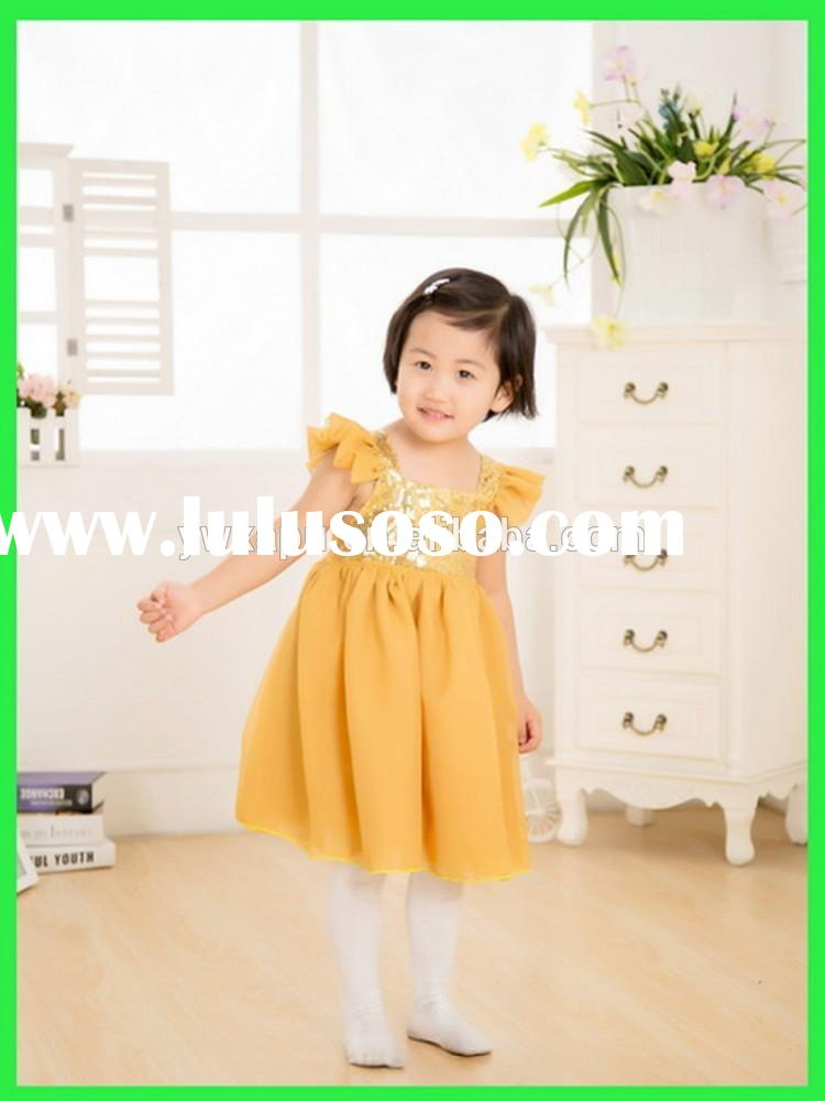 Kid Wear Baby Frock designs Cute Girl Fashion Dress ,Girl New Dress For Party ,Fancy Dresses For Bab