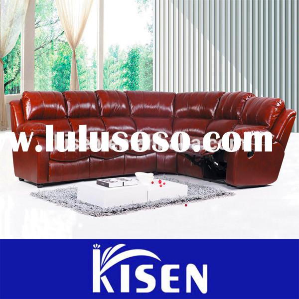 Living room furniture leather recliner sofa comfortable chairs for the elderly
