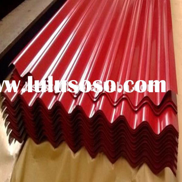 Lowes metal roofing sheet price colored corrugated steel roofing sheet