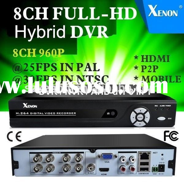 NEW Best 8CH 960P CCTV System Kit AHD Video Surveillance DVR Security Camera System