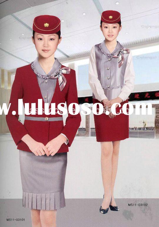 Nice Women Airlines Office Uniform Style For Ladies