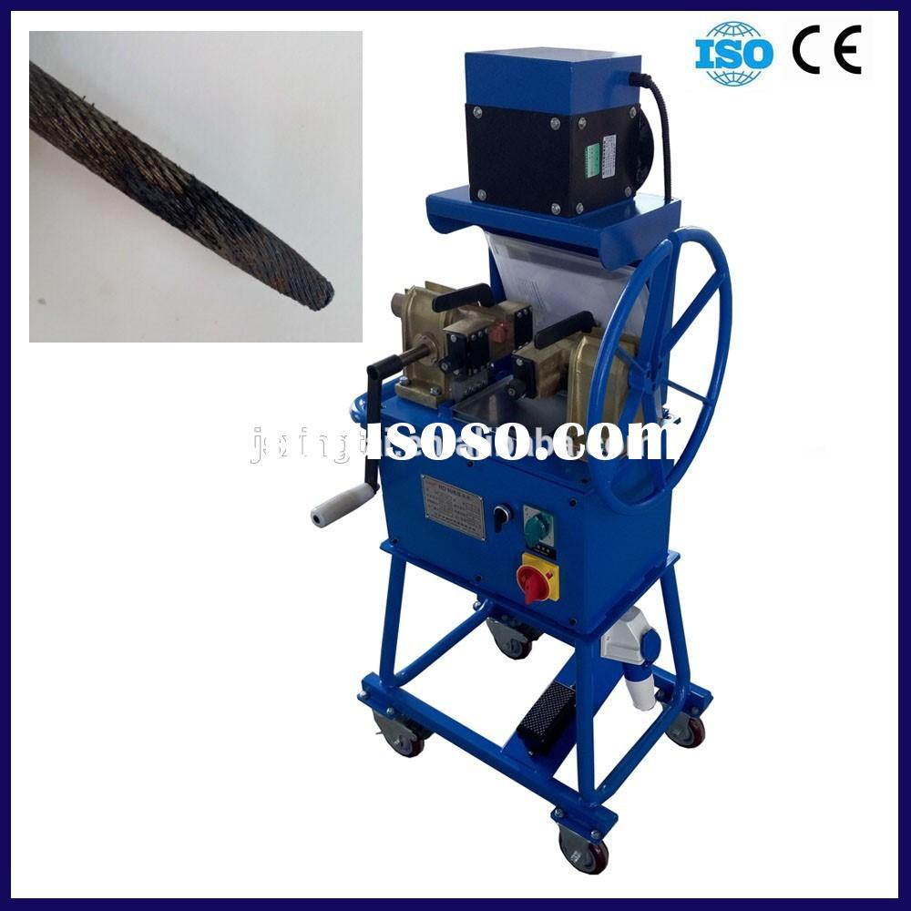RD-1010 3mm to 16mm Steel Wire rope cutting and annealing Machine