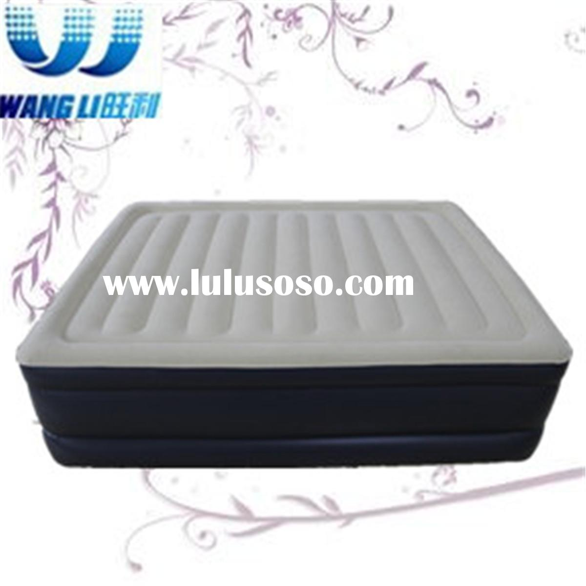 Soft Queen Air mattress with built-in electric pump