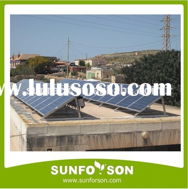 Triangular Solar Panel Support Structure /Aluminum PV Structure /Racking System