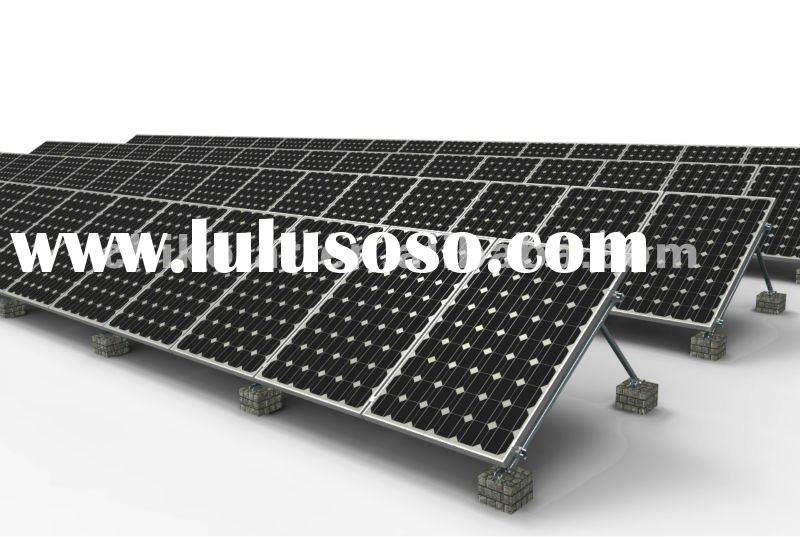Triangular Structure Ground Mounted Solar Panels