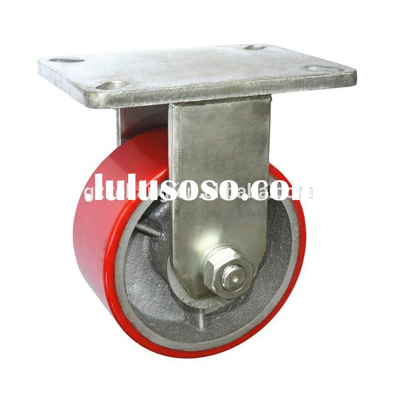 Wholesale Heavy Duty locking Industrial Caster Wheels for the equipment from 6inch to 12inch