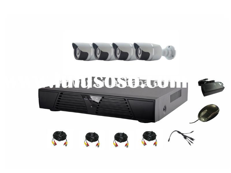 best price video surveillance high definition ahd dvr 4ch cctv security camera system