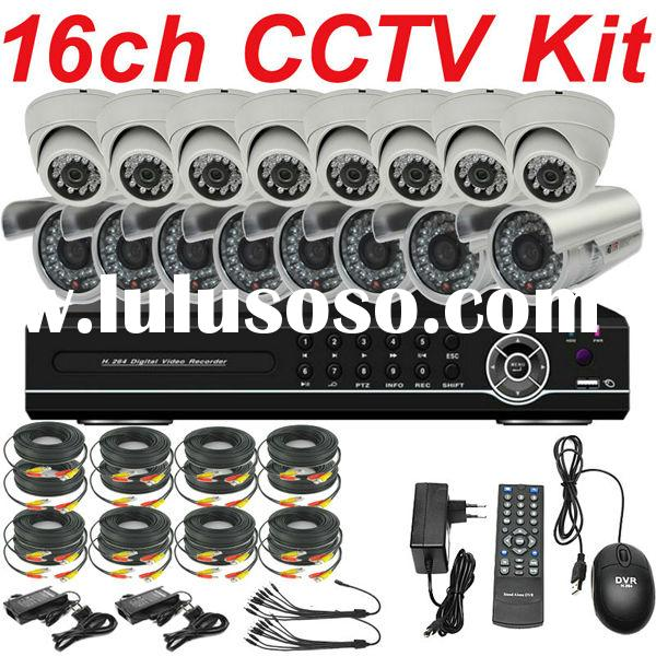 best 16ch cctv camera system video security system