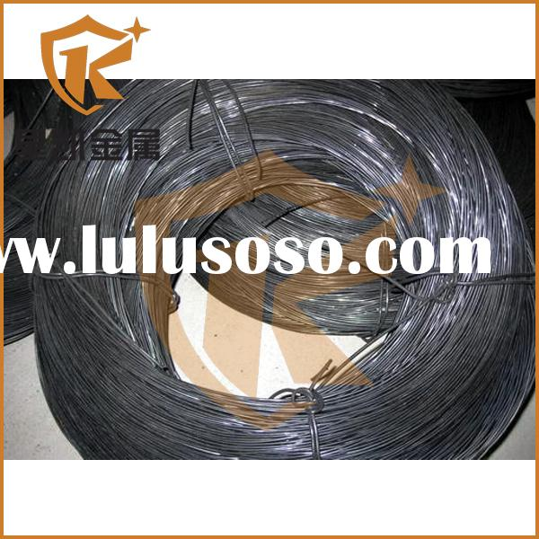 china black steel wire rope binding wire with making machine