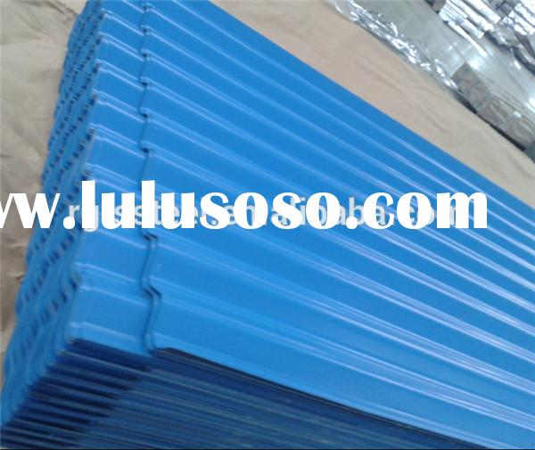color coated galvanized metal roofing sheets prices