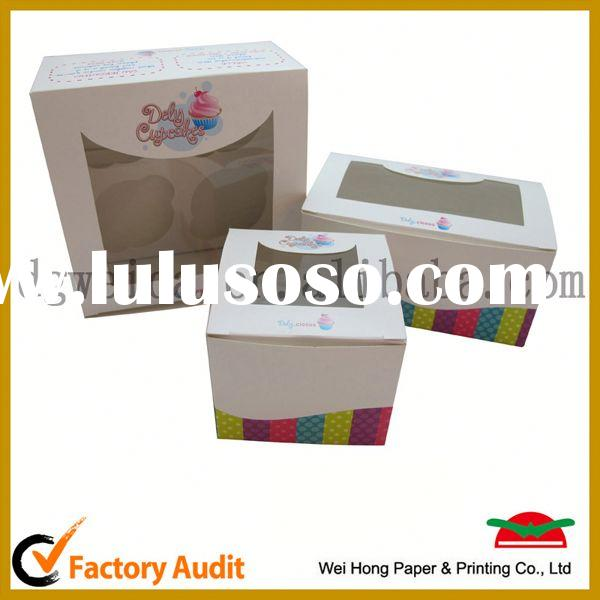cupcake containers,cheap cake box wholesale