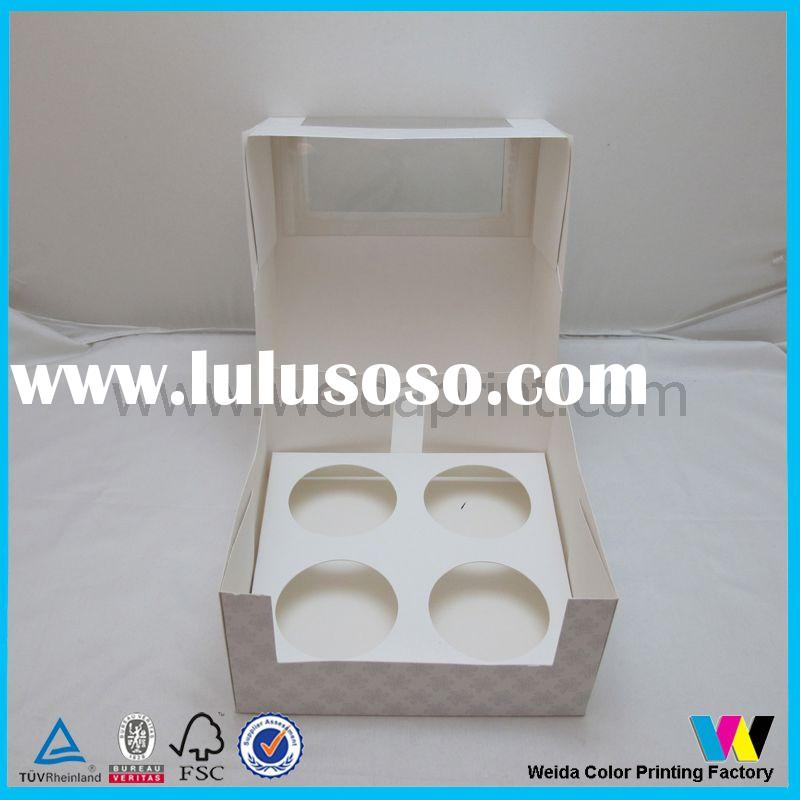 hot sale cupcake boxes,cheap cupcake containers