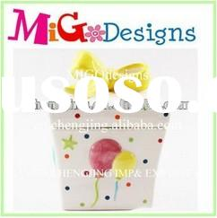hot sales cupcake containers wholesale ceramic cupcake gift