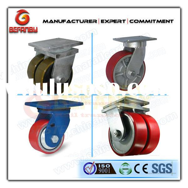 industrial locking caster wheels and 360 degree rotating caster wheel