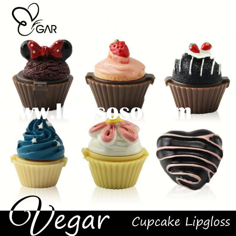wholesale cheap lipstick Cupcake lipstick lipstick container for cosmetic use