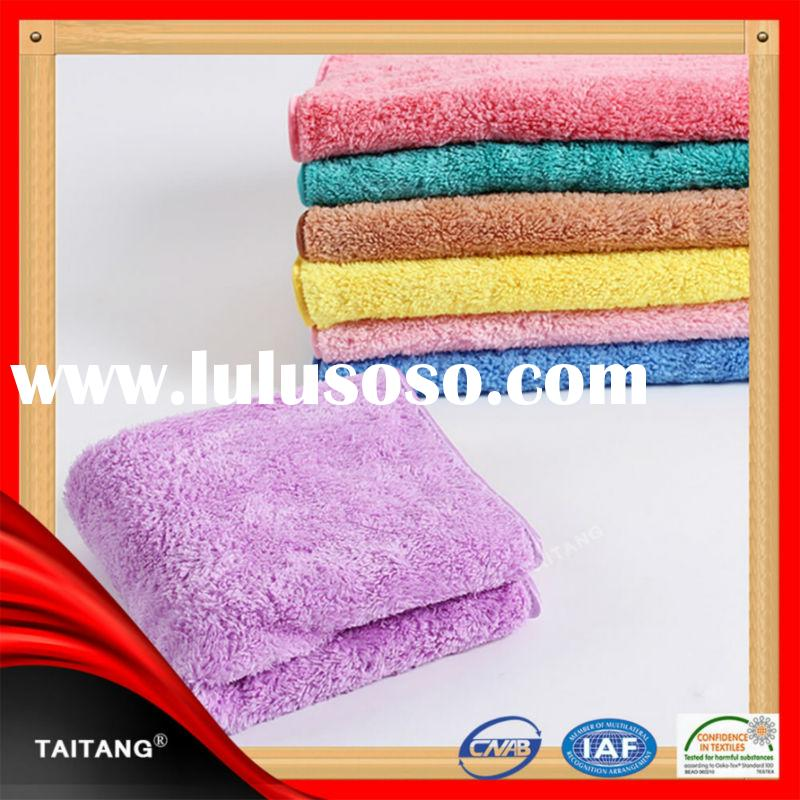 100% cotton bamboo fiber golf high quality factory price luxury bath towels bathroom towel drying ra