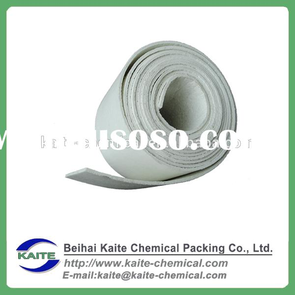 1050 common type 25mm thick density 96 kg/m3 ceramic fiber blanket for pipe insulation