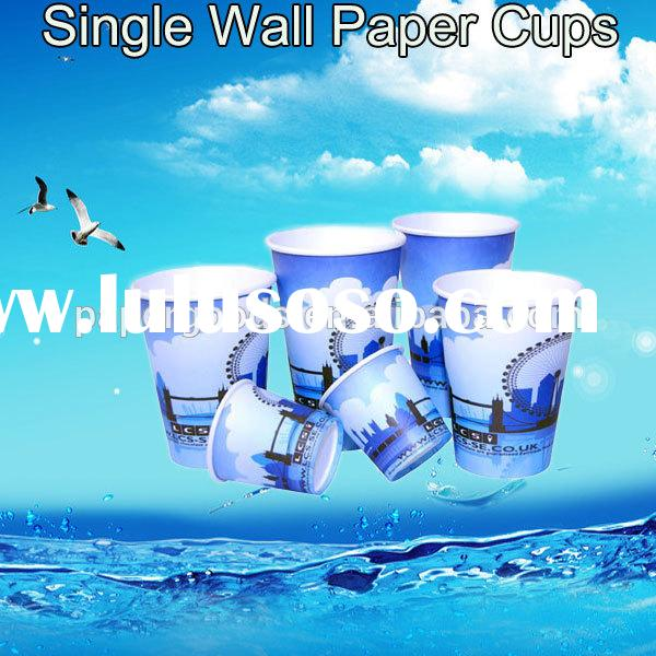 14 Printed Disposable Cup And Saucer